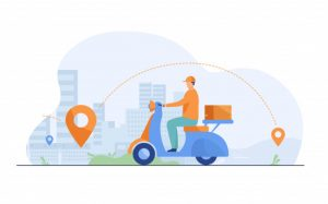 courier-shipping-package-moped-flat-illustration_74855-5227